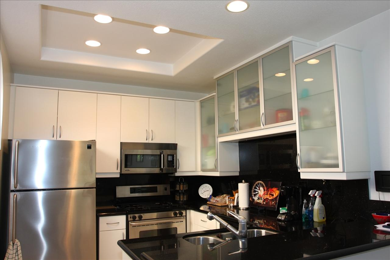 Kitchen Lighting Makeover South County Drywall